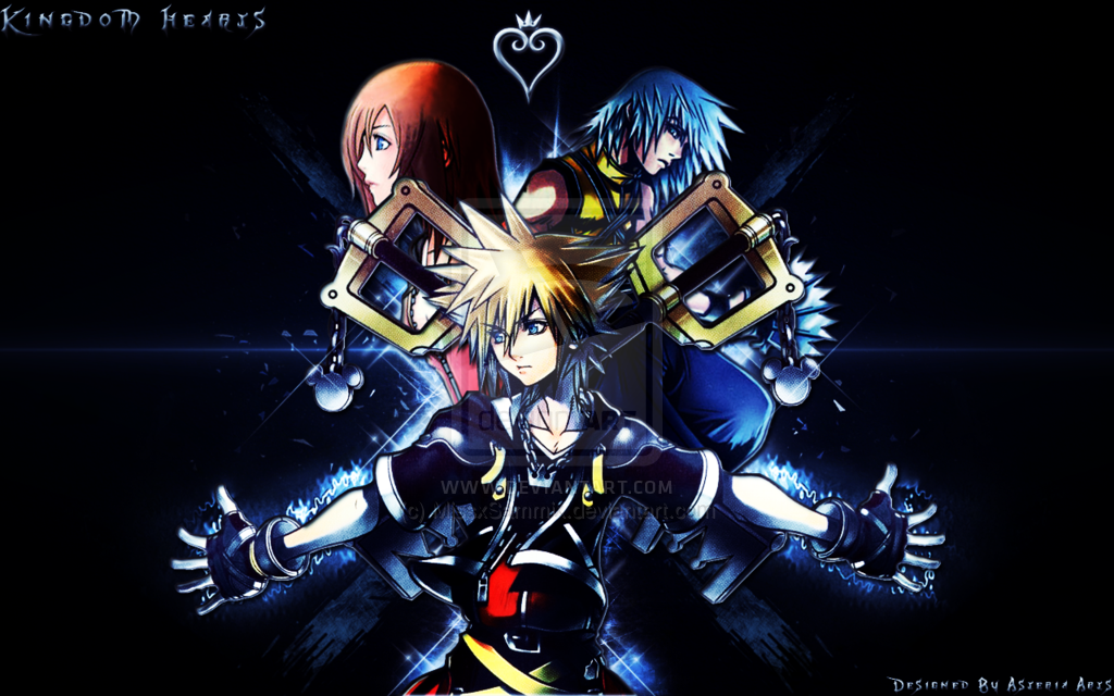 Kingdom Hearts Background by MissxSammix 1024x640