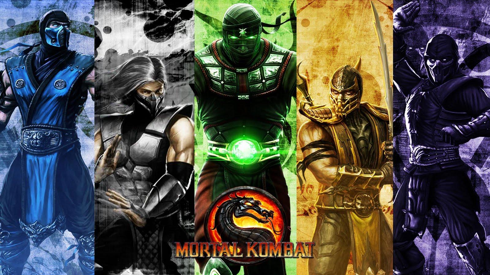 MORTAL KOMBAT BRASIL Mortal Kombat 9 Wallpapers 1600x900