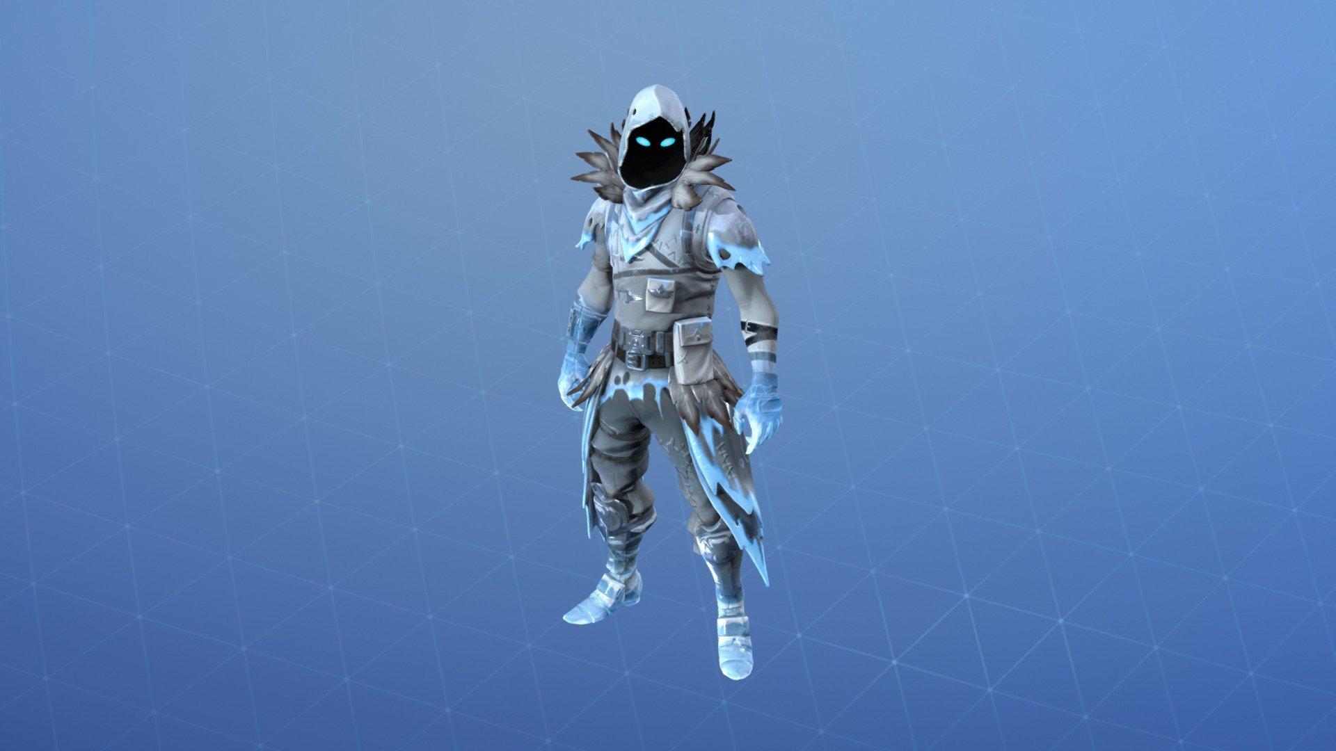 Frozen Raven Outfit   3D model by Fortnite Skins fortniteskins 1920x1080