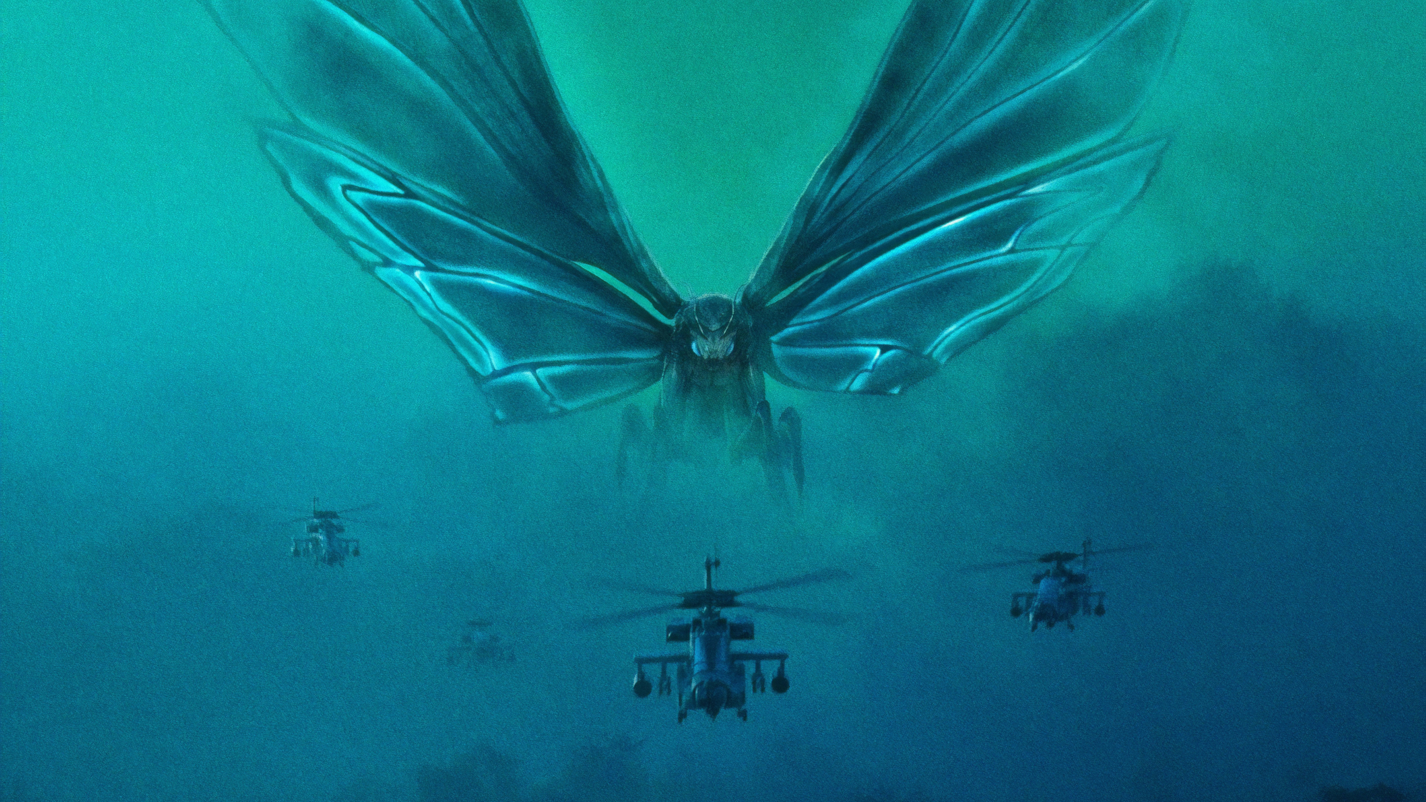 Free Download Mothra Godzilla King Of The Monsters Wallpaper Hd