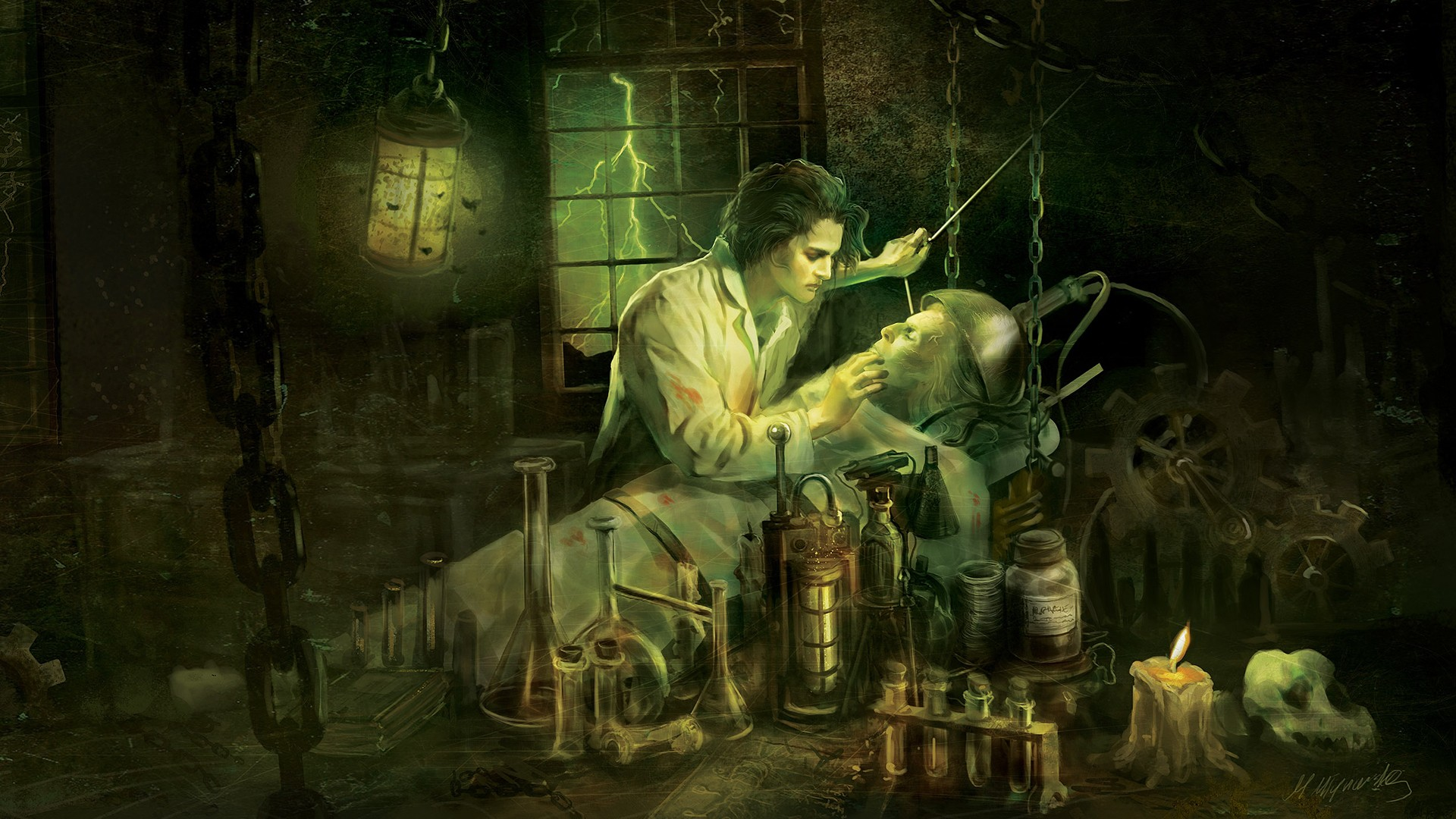 frankenstein lab essay Frankenstein essay: frankenstein, by mary shelley, is arguably one of the most controversial novels of the 19th century it discusses the concept of science verses human conscience in a.
