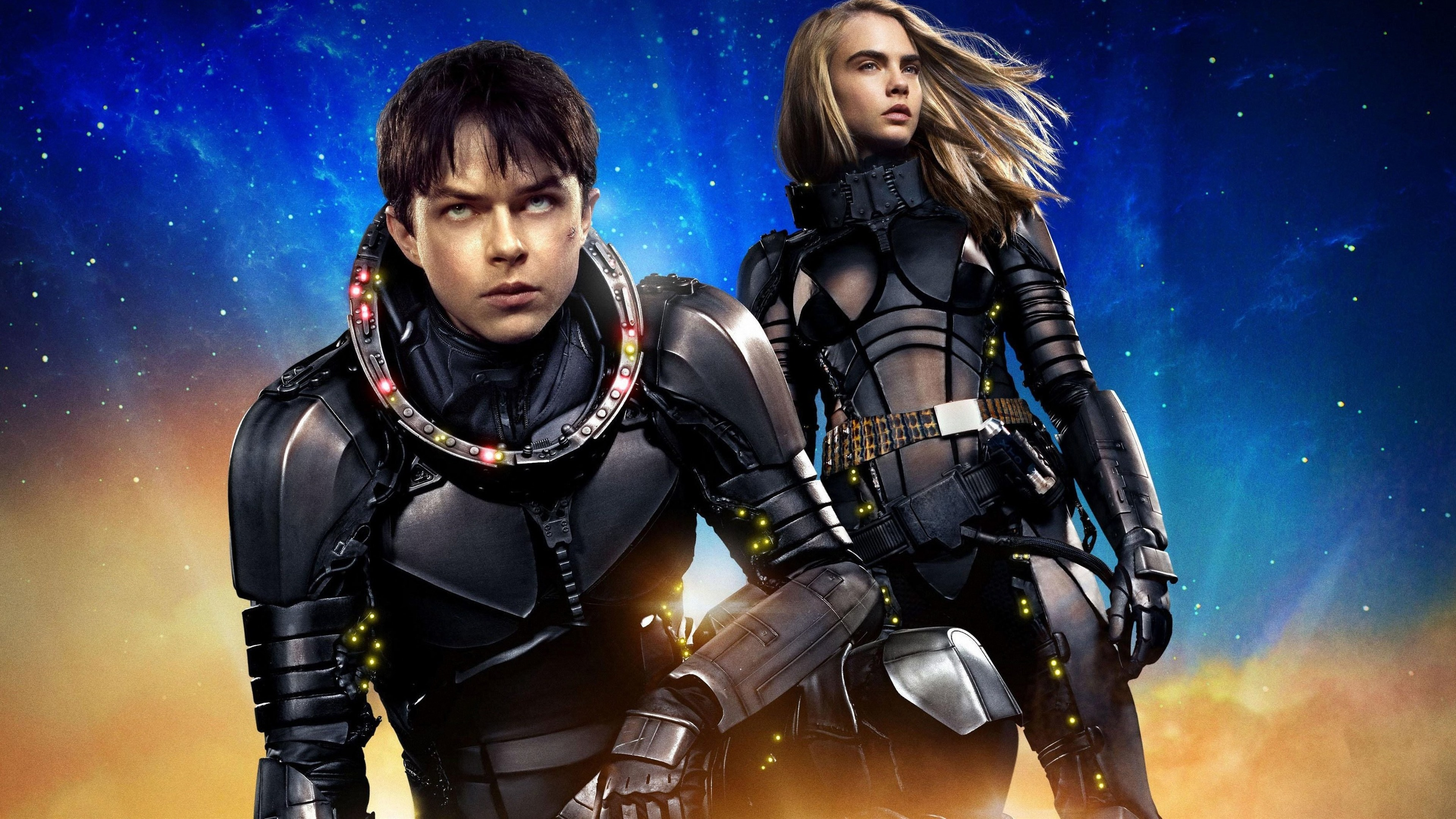 Wallpaper Valerian and the City of a Thousand Planets Science 3840x2160