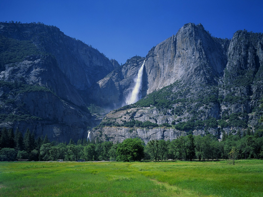 Yosemite Waterfall Photo Collection Yosemite Waterfall HD Wallpaper 1024x768