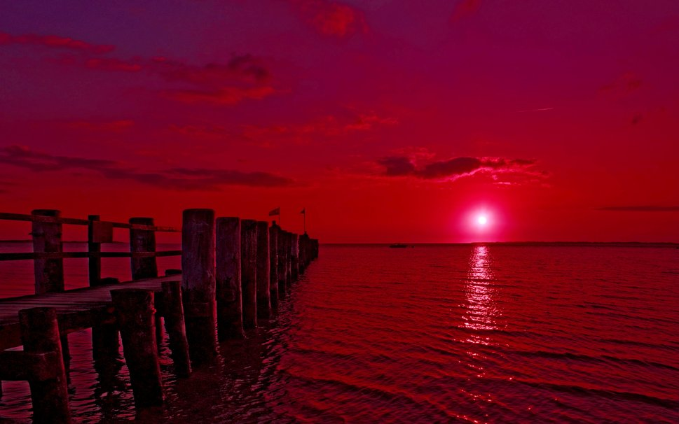 PINK SUNSET wallpaper   ForWallpapercom 969x606