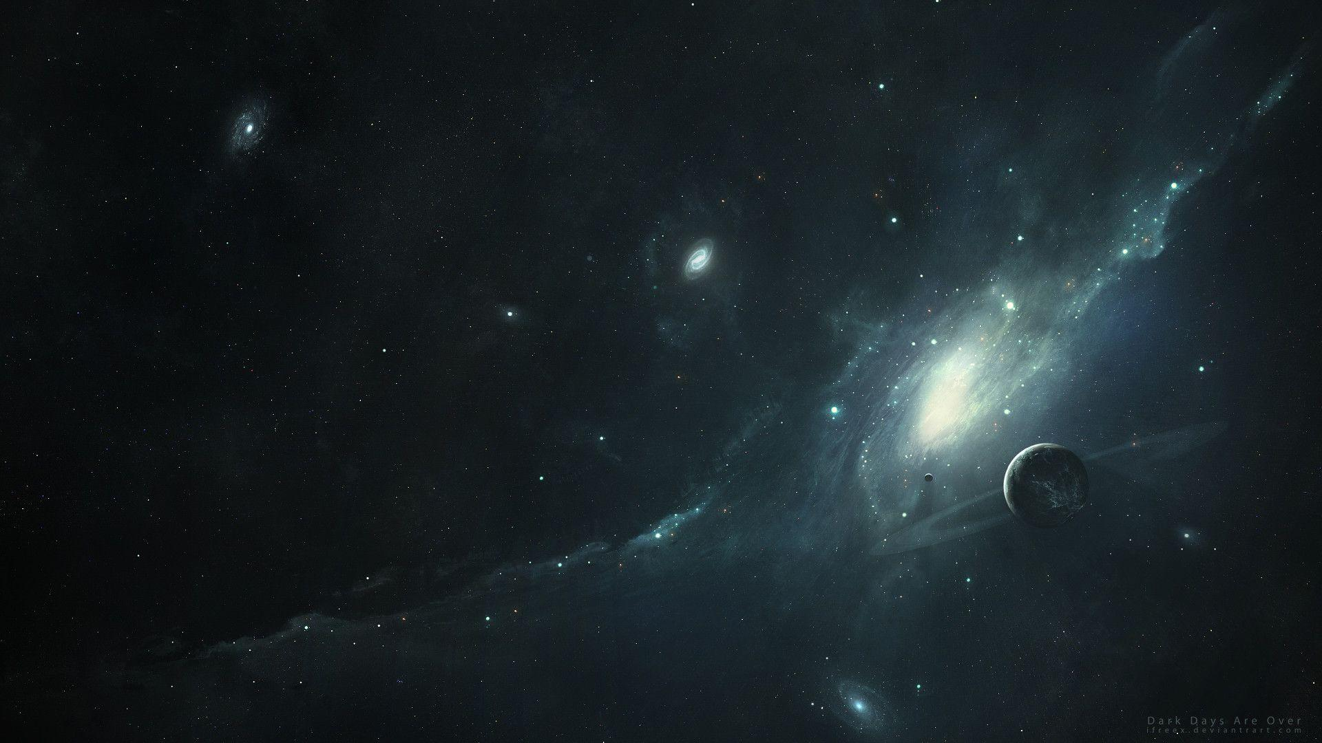 Dark Space Wallpapers 1920x1080