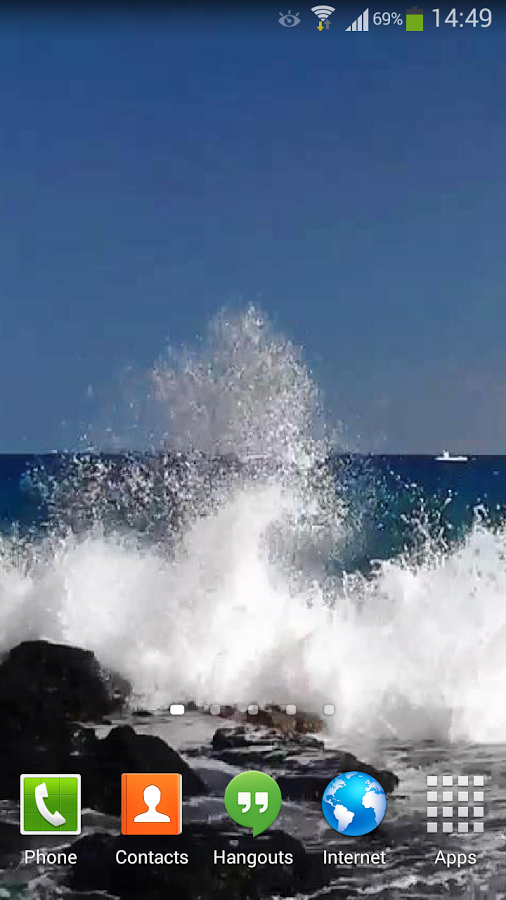 watch a great and agitated ocean with giant blue ocean waves 506x900