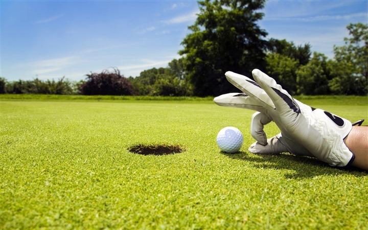 Golf lawn widescreen HD wallpaper   Wallpaper View 720x450