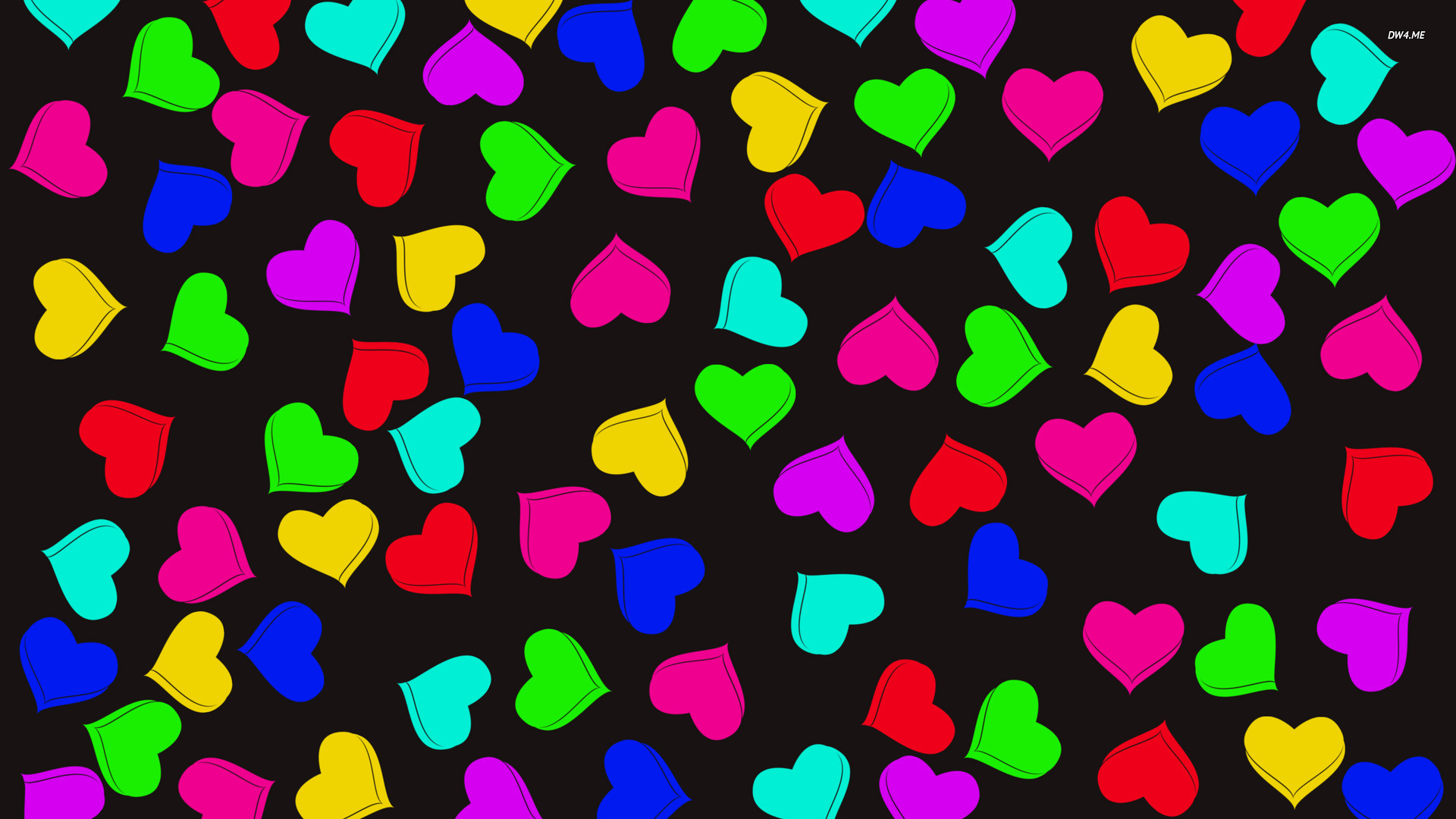 59 colorful heart backgrounds on wallpapersafari - Heart to heart wallpaper ...