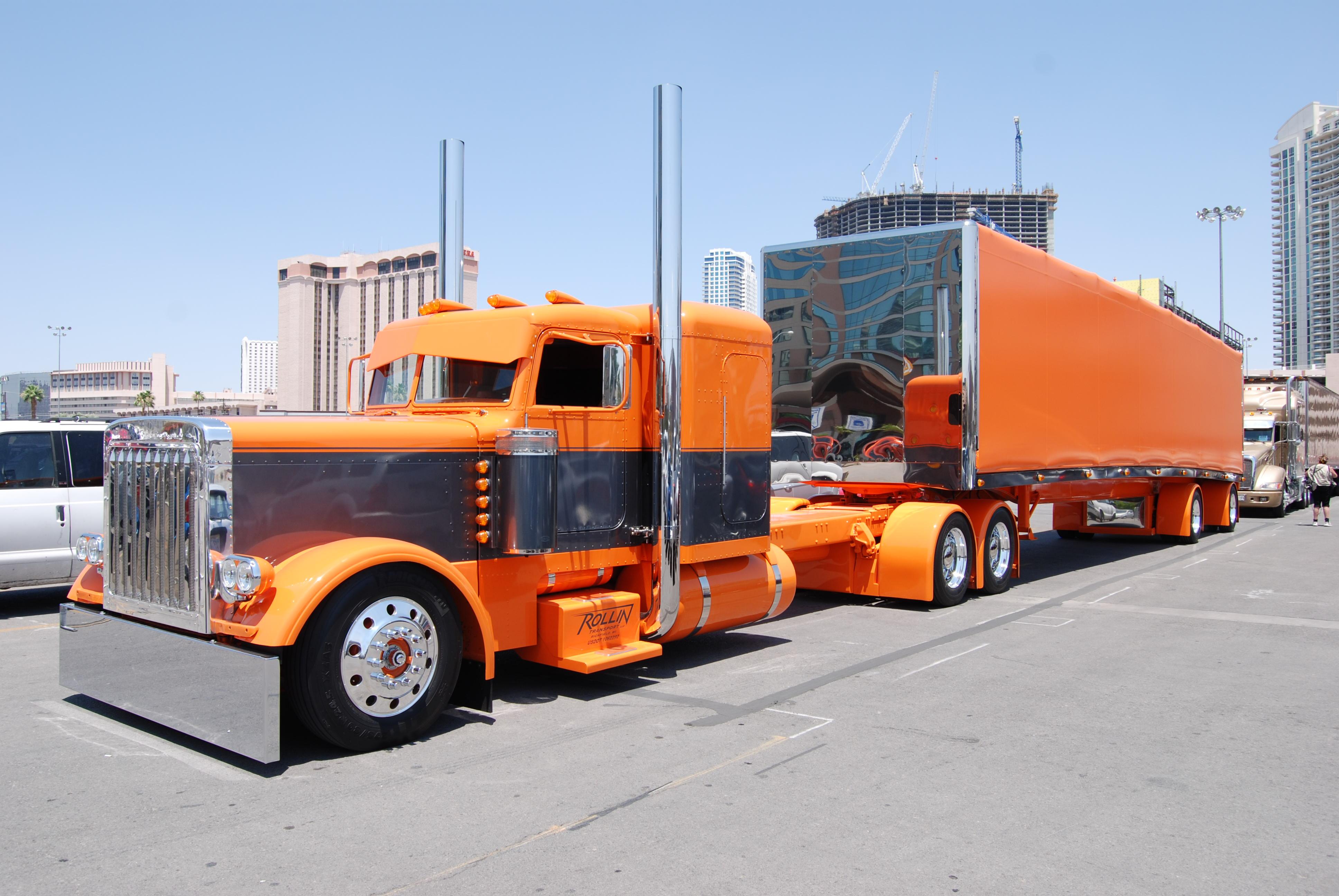 Semi trucks tractor rigs peterbilt wallpaper 3872x2592 53838 3872x2592