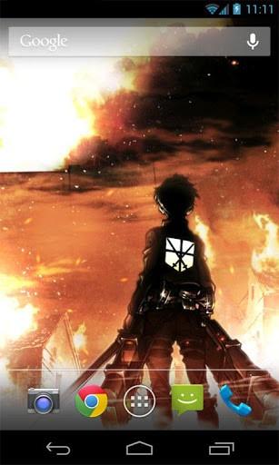 Attack on Titan Live Wallpaper Screenshot 3 307x512