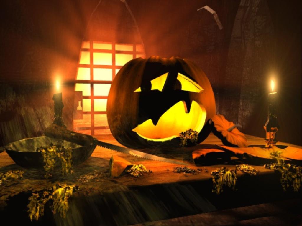 Halloween Wallpapers   mmw blog Cute Halloween Cartoons 1024x768