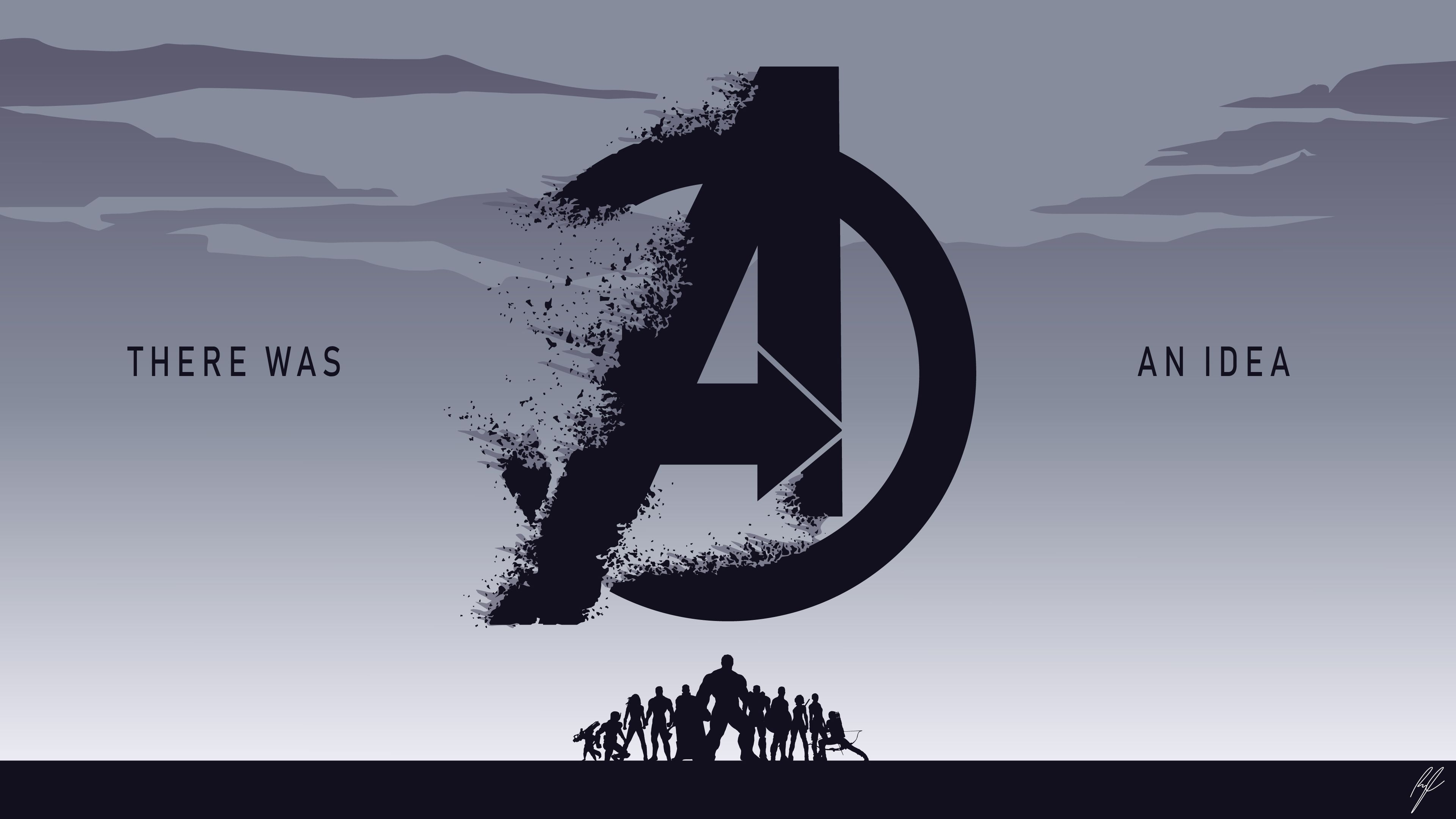 Avengers EndGame There Was An Idea 4k superheroes wallpapers 3840x2160