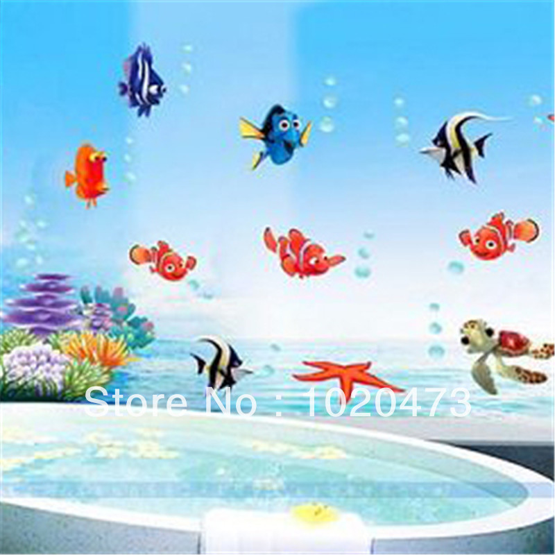 Wallpaper 3D Wall Stickers Finding Nemo Wall Sticker Vinyl Decal 800x800