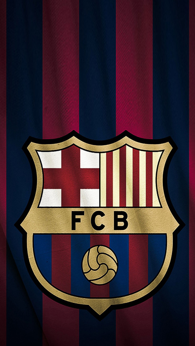 FC Barcelona Logo iPhone 6 6 Plus and iPhone 54 Wallpapers 640x1136