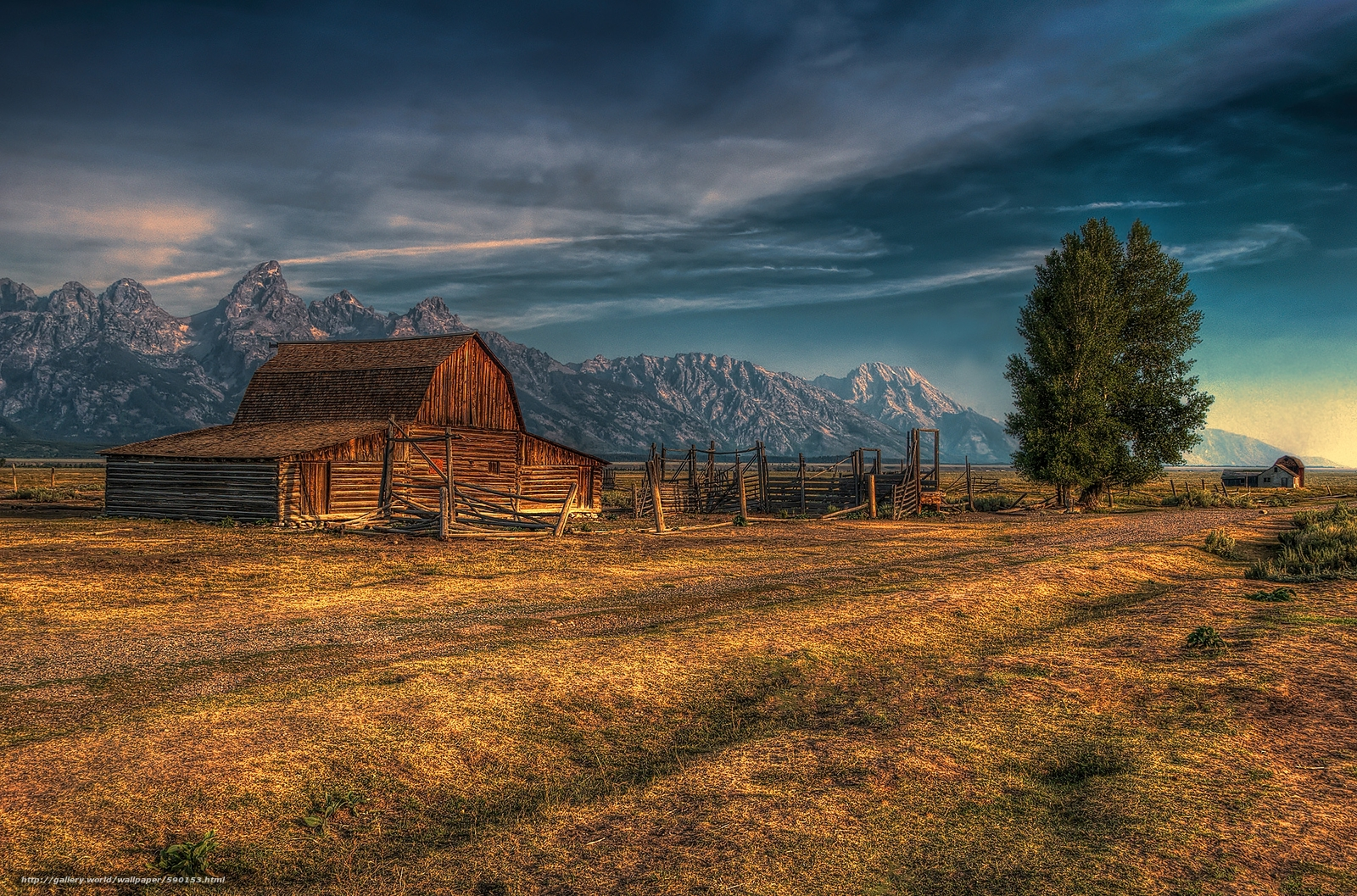 Jackson Hole Wyoming desktop wallpaper in the resolution 1600x1057