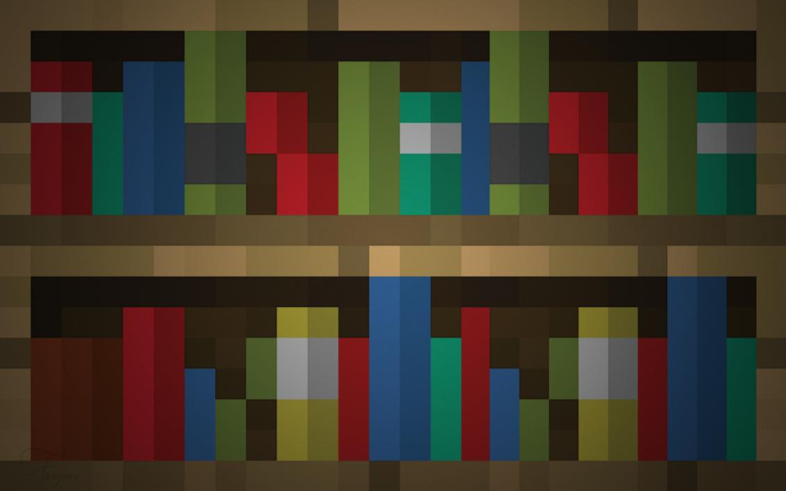 Bookshelf wallpaper by Fivezero09 1131x707