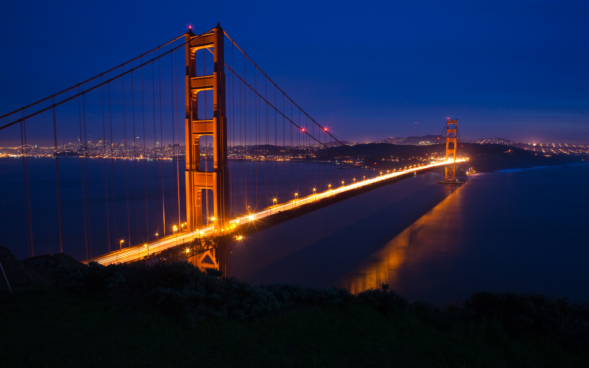 Wallpapers and pictures San Francisco Golden Gate Bridge wallpaper 1920x1200