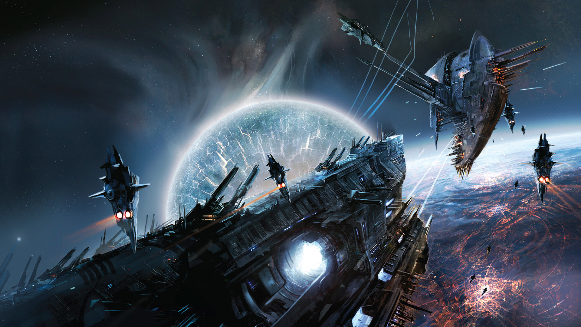 Space War Game Scene Wallpapers HD Wallpapers 1920x1080