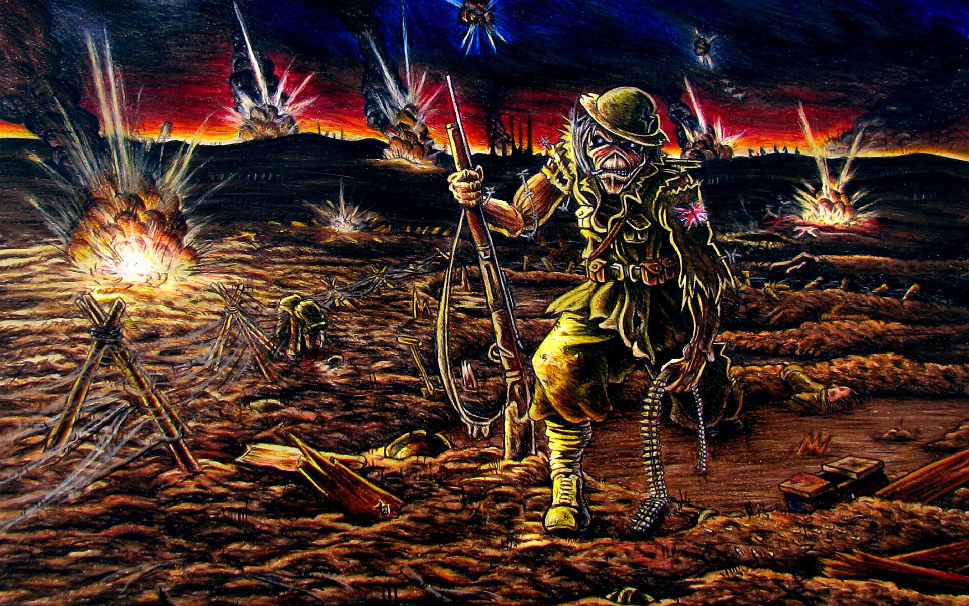 Iron Maiden Desktop Wallpaper: Iron Maiden Eddie Wallpaper HD