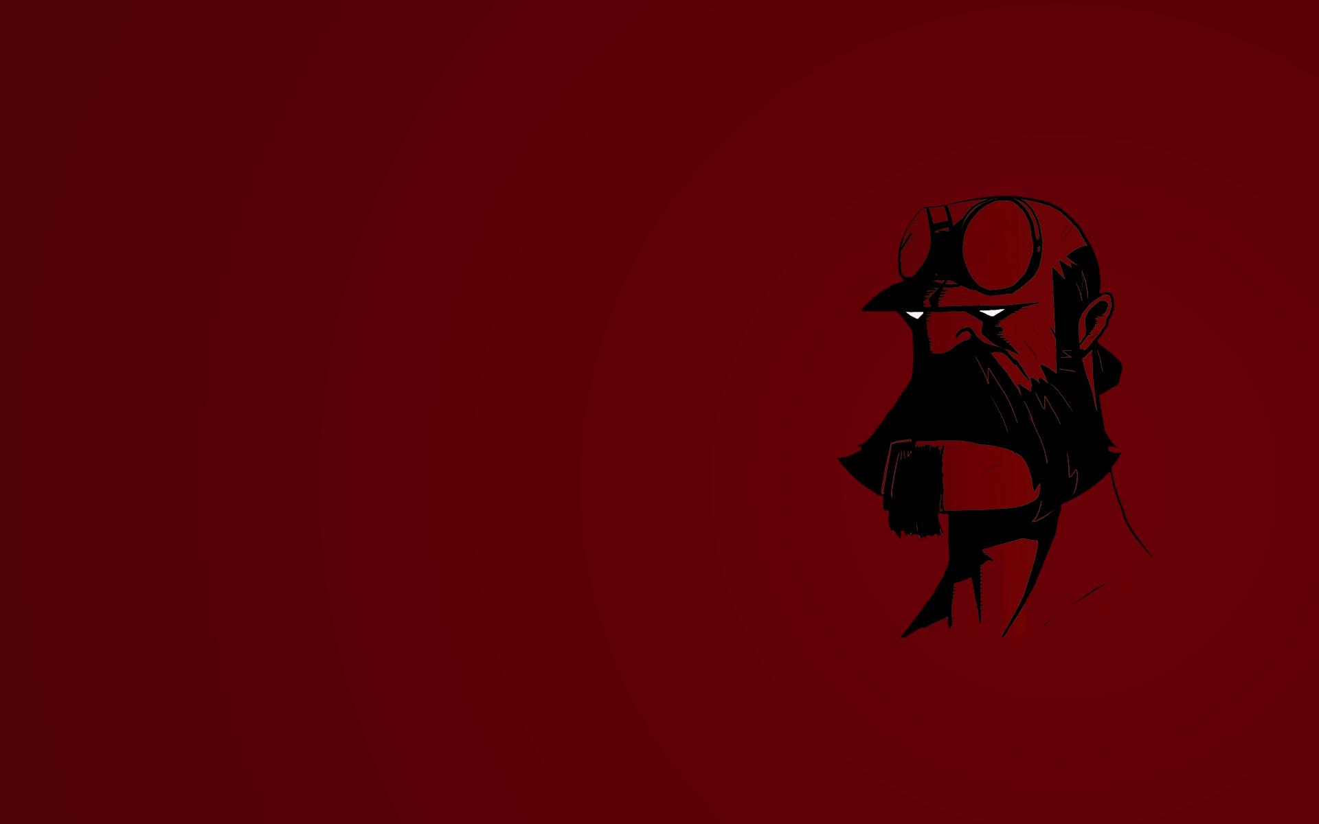 Bearded Hellboy Wallpaper by Affubalator 1920x1200