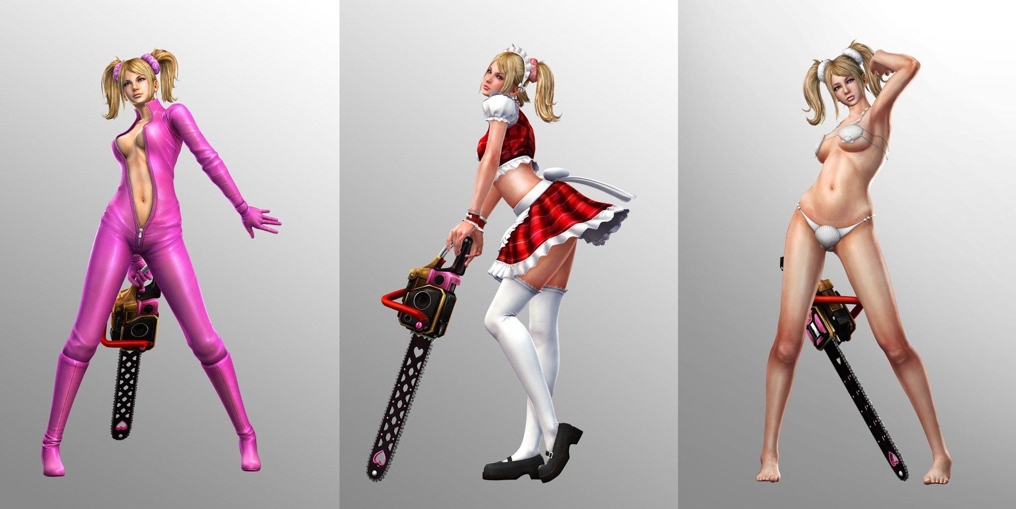 Jessica Nigri Lollipop Chainsaw Cosplay   Babes HD Wallpaper 2044x1024