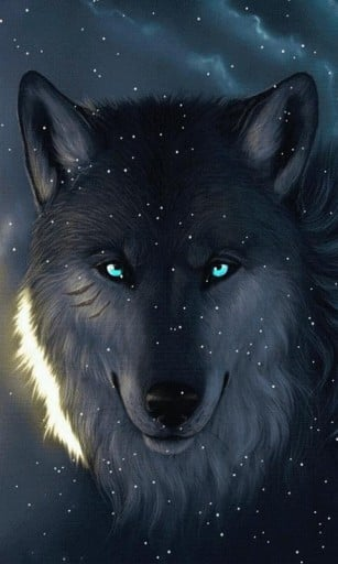 Download Snow Wolf Live Wallpaper for Android by neptune apps 307x512