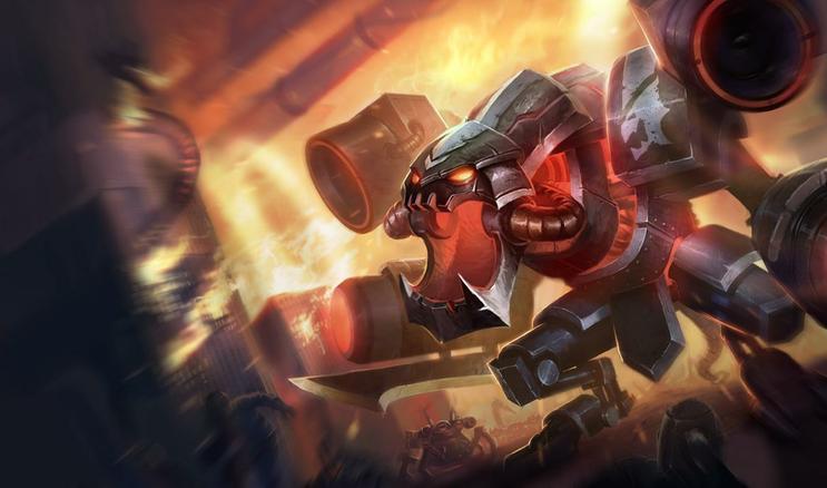 NA ] Battlecast Prime ChoGath Official League of Legends Splash 743x438