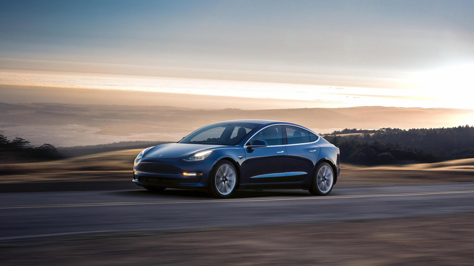 Tesla Model 3 Wallpapers 1920x1080