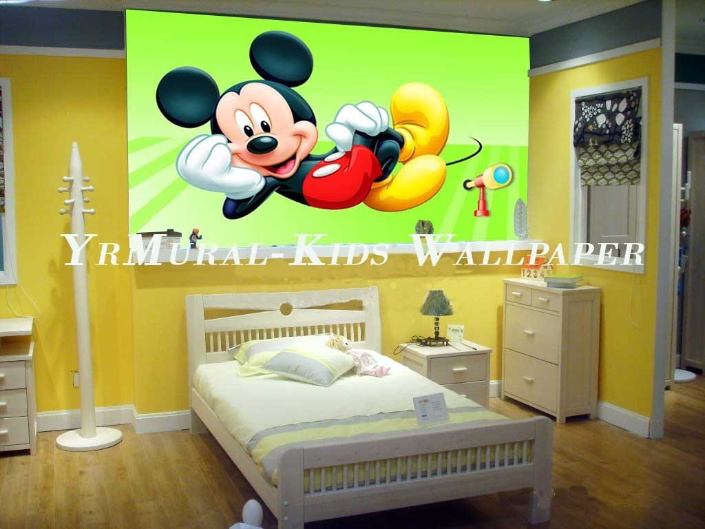 Wallpaper kids room wallpapersafari for Kids room wall paper