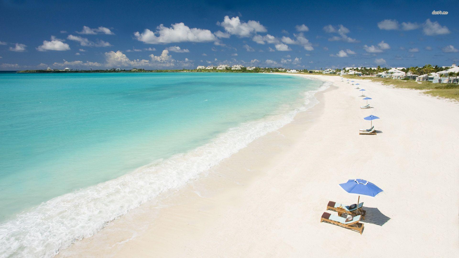 Caribbean Beach Desktop Wallpaper - WallpaperSafari