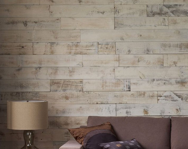 Simple DIY Reclaimed Wood Wall Planks For Your Bachelor Pad   The 630x500