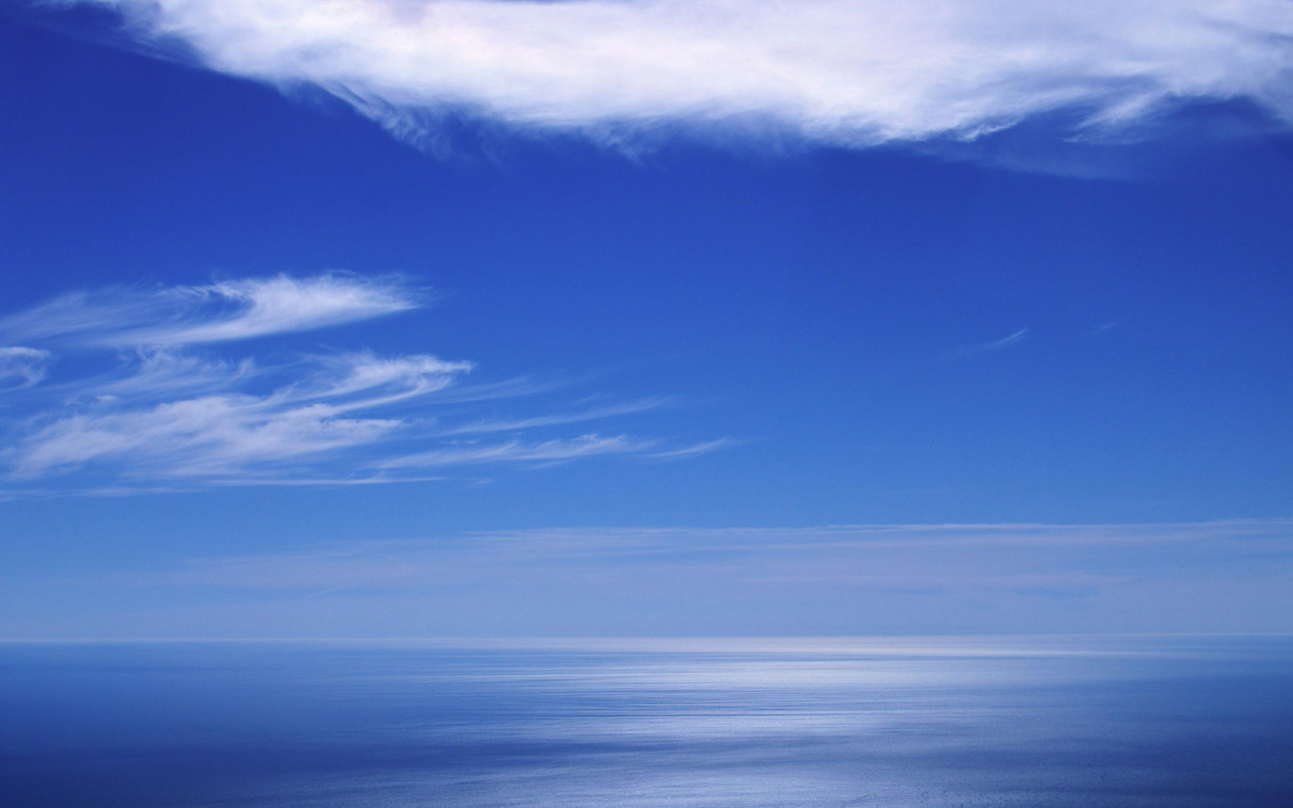 Blue Sky Relaxing Wallpapers 2560x1600