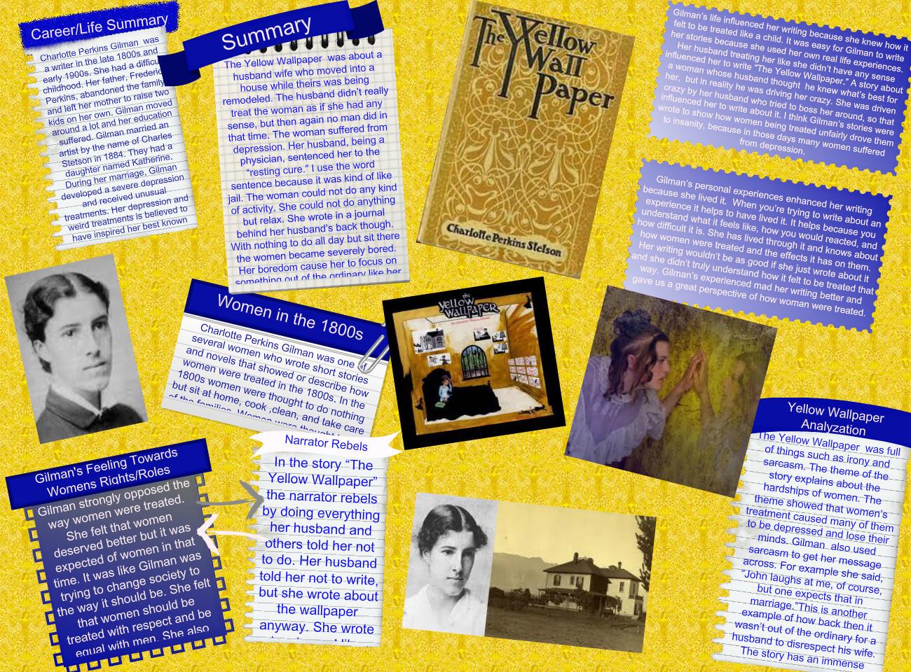 Dissertation paper yellow wallpaper