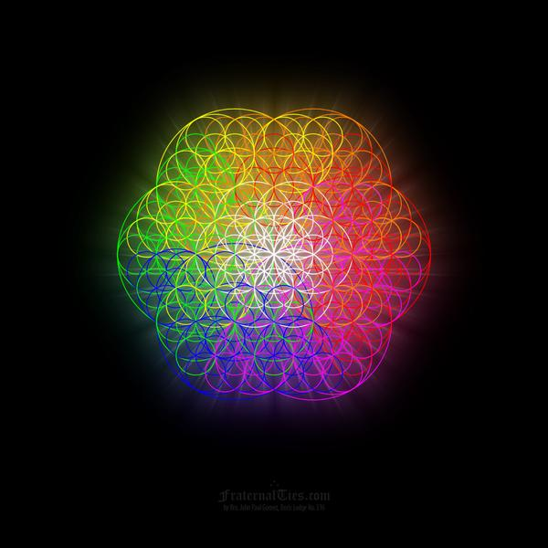 Sacred Geometry Flower Of Life Wallpaper It is based on the sacred 600x600