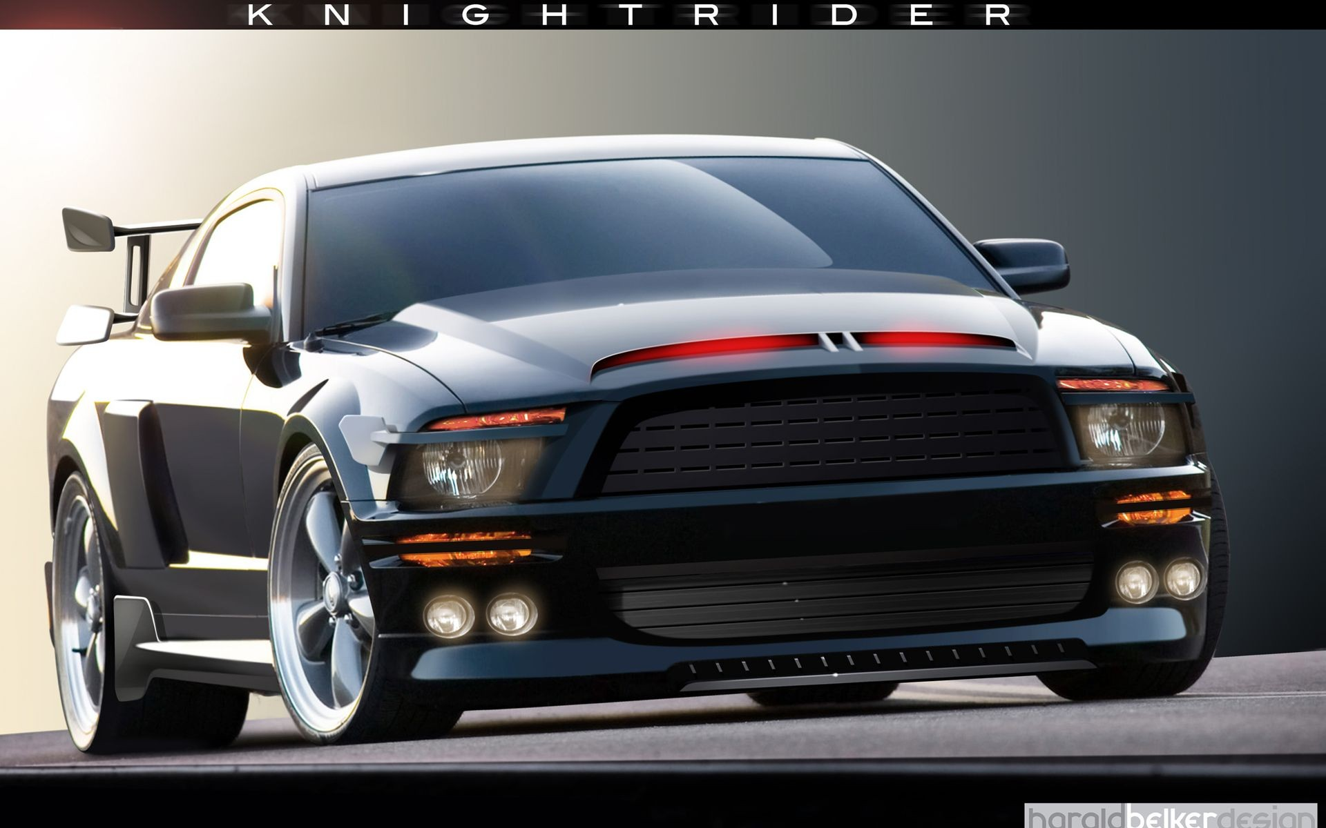 Wallpaper Knight Rider Mustang Android Wallpaper Knight Rider 1920x1200