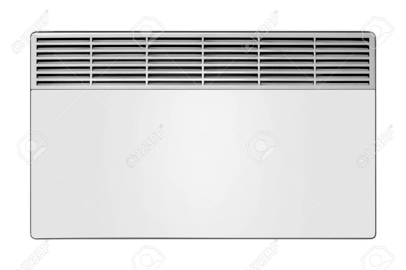Home Appliance   Electric Convection Heater On A White Background 1300x866