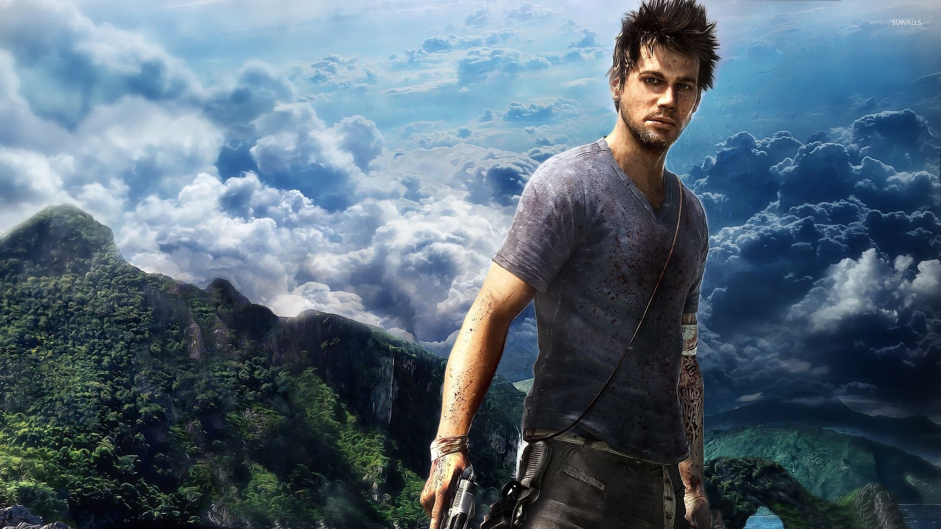 Jason Brody   Far Cry 3 wallpaper   Game wallpapers   18225 1920x1080