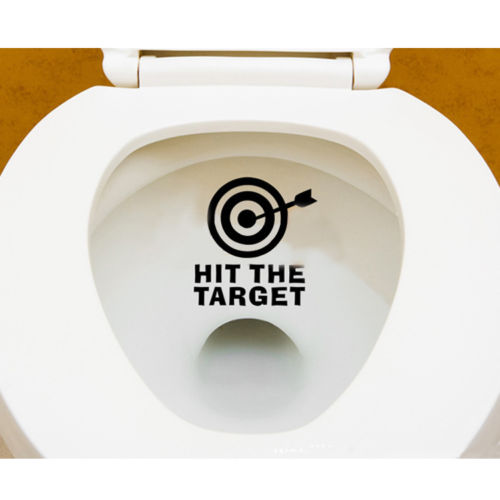 Hit The Target Waterproof Wall Stickers Decal Decor Removeable eBay 500x500