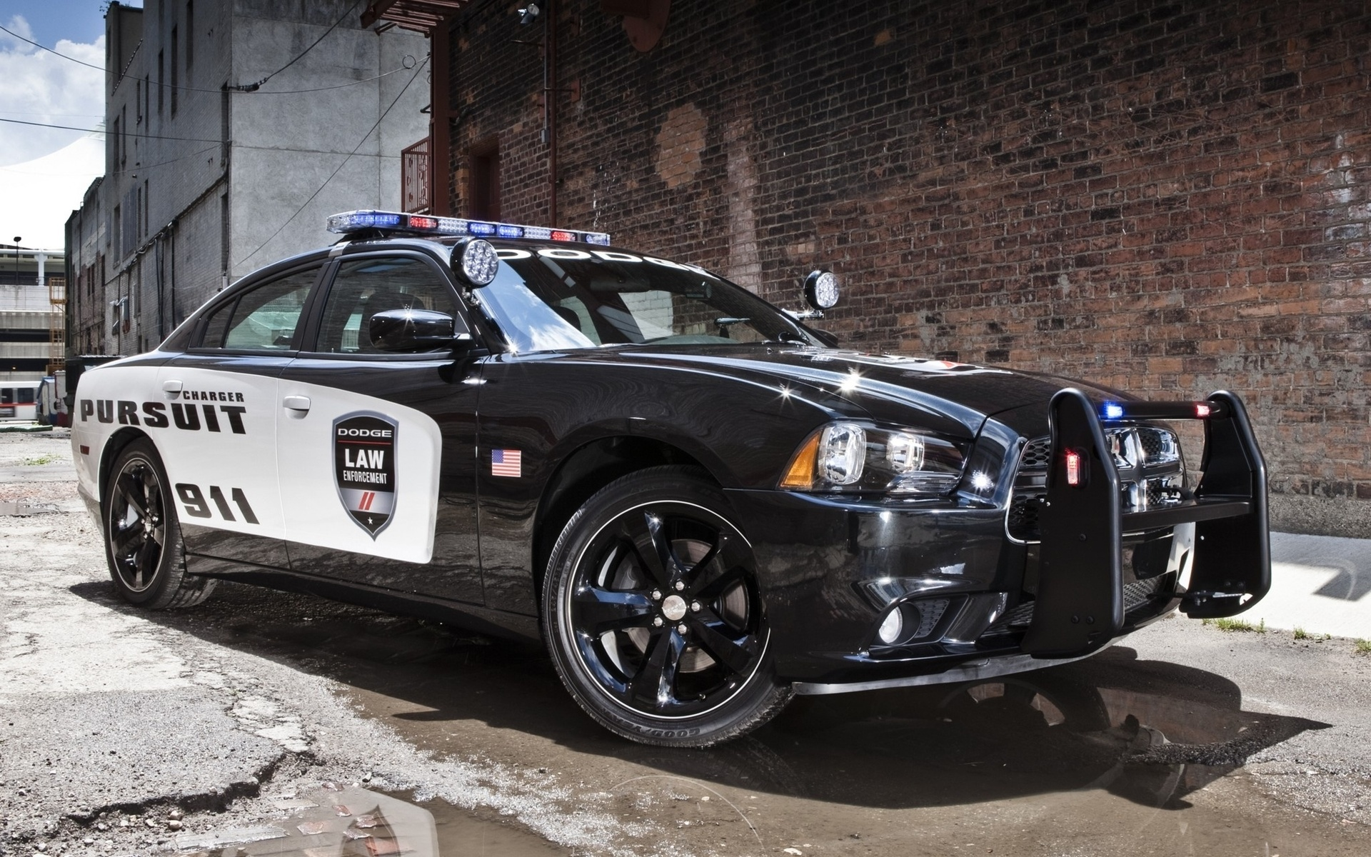 Cool Police Cars Wallpaper 1920x1200