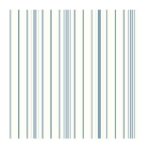 SA9111 Ashford Stripes Wide Pinstripe Wallpaper WhiteBlue eBay 500x500