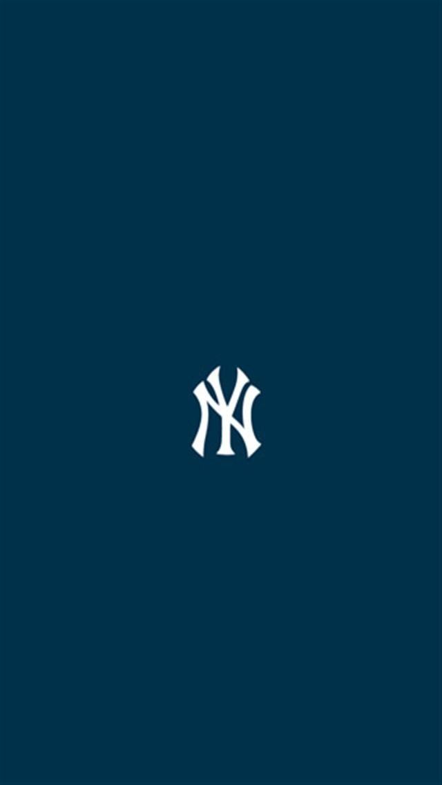 New York Yankees 4 LOGO iPhone Wallpapers iPhone 5s4s3G 640x1136