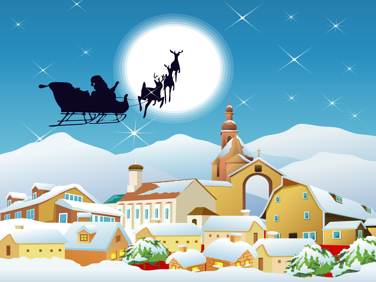 Animated Gifs Christmas wallpapers for kids funny collection download 1600x1200