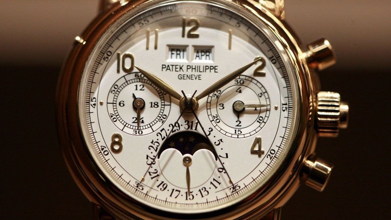 PATEK PHILIPPE watch clock time 38 wallpaper 1920x1080 1244x700