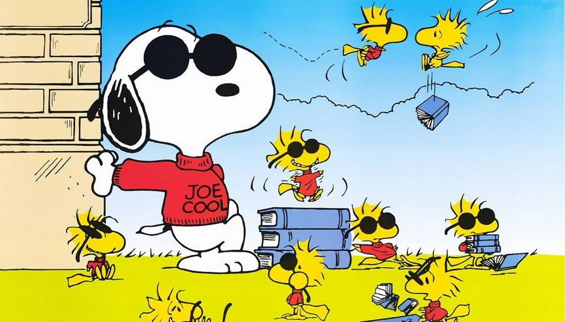 happy thanksgiving snoopy wallpaper