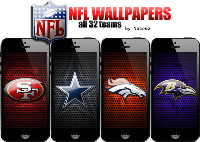 iPhone 5 NFL Wallpapers   All 32 teams nfl adpng 640x456