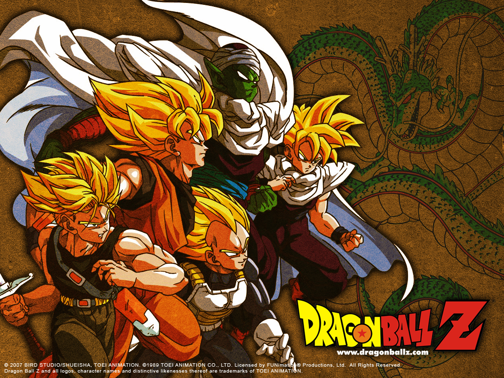 Home Wallpaper Dragon Ball Z Dragon Ball Z 1024x768
