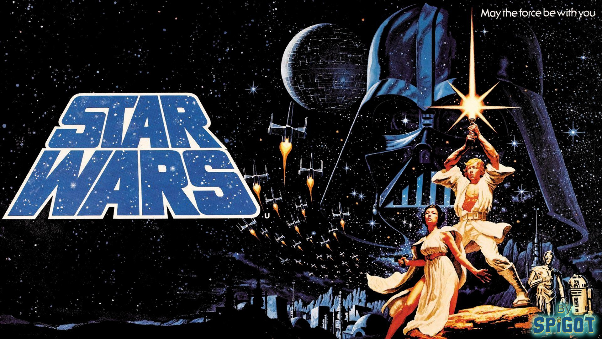 50 Star Wars Poster Wallpaper On Wallpapersafari