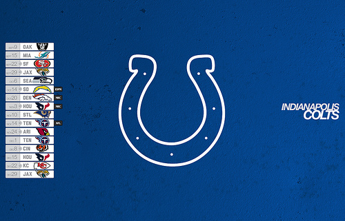 Indianapolis Colts 2013 Schedule Desktop Wallpaper Flickr   Photo 500x321