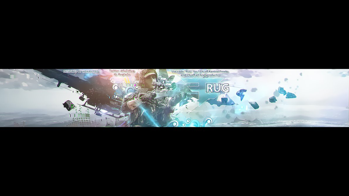 eRa Ject FaZe Rug by Jected 1191x670