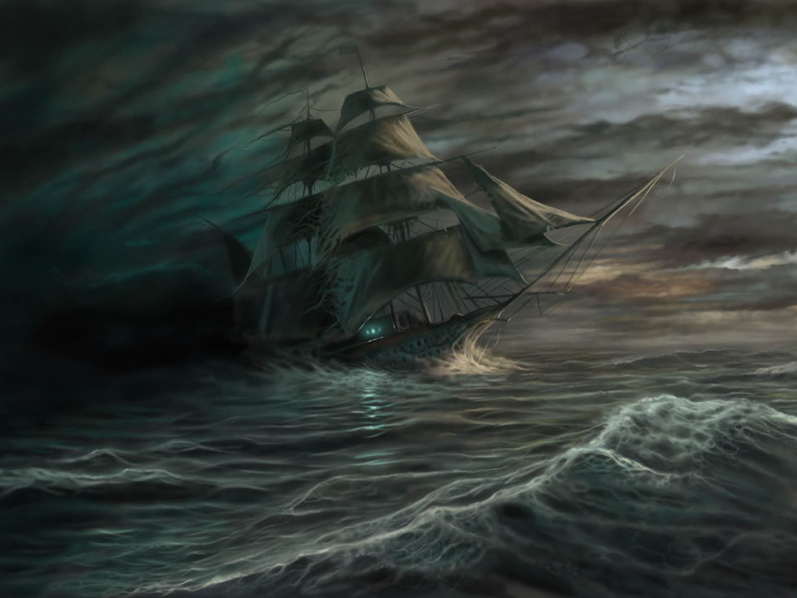 wallpapers Ghost Ship 1600x1200